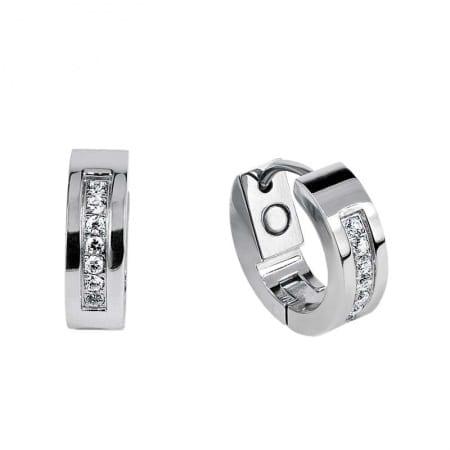 2246P Glitz Fina silver örhänge med zirkoner