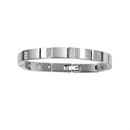 2251 Glitz armband i stål.